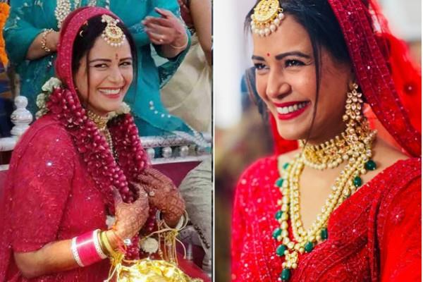 mona singh celebrates five months of marriage pics