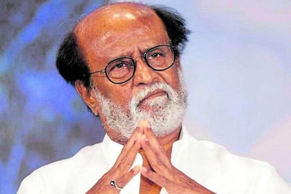 rajinikanth in protest against opening liquor shops in tamil nadu