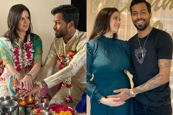 pregnant natasa stankovic married with cricketer hardik pandya