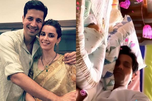 ekta kaul share first glimpse picture of his son ved