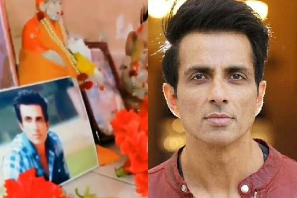 man worships sonu sood for getting him to his mother calls actor god