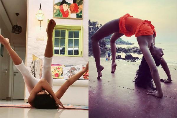 kavita kaushik tough exercise photos viral