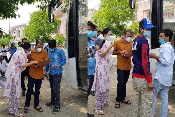 swara bhaskar arrange buses for migrant workers fans calls her lady sonu sood