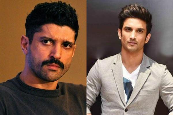 farhan akhtar furious over who created a spectacle on the death of sushant singh