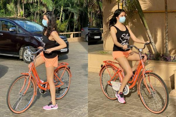 divya khosla started her fitness routine with cycling