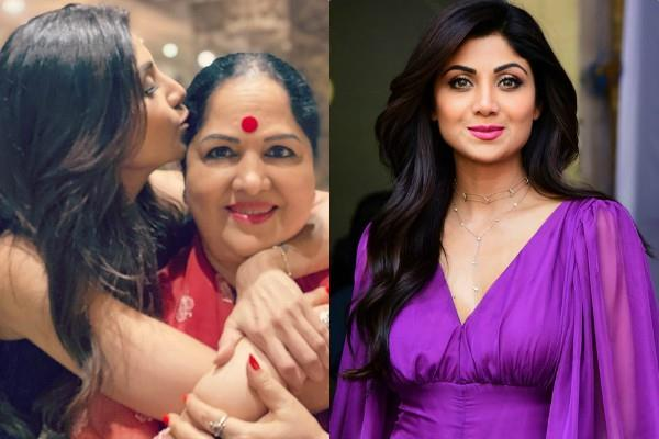 shilpa shetty shares a special post on her mother birthday