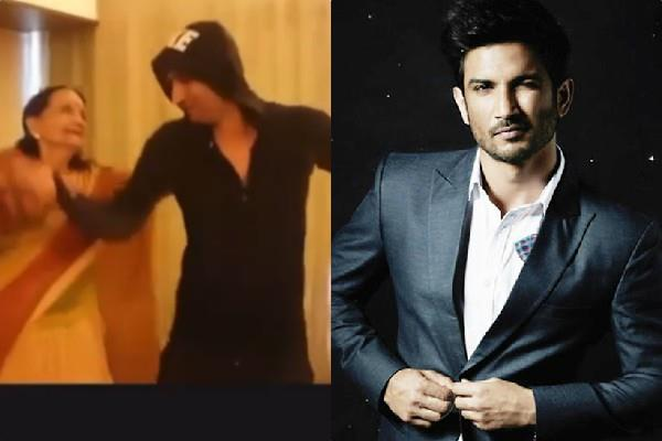 unseen video of sushant singh s last film  dil bechara  go viral
