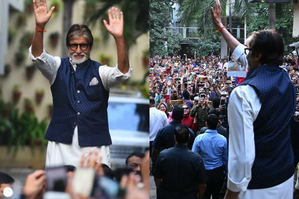 amitabh bachchan shares throwback photos with special message