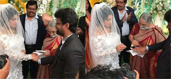 vanitha vijayakumar got married to filmmaker peter paul