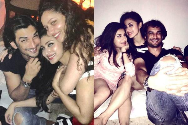 mouni roy shared pictures with sushant singh rajput and ankita lokhande