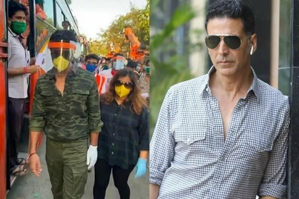 people demand bharat ratna for akshay sonu their support during corona pandemic