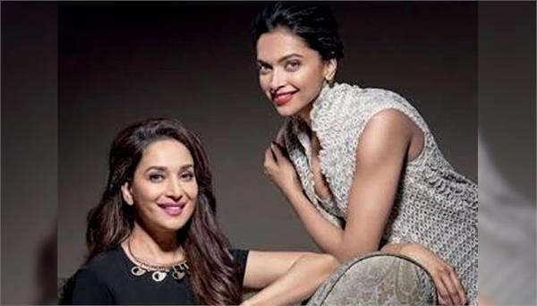 madhuri dixit calls deepika padukone rocking star of industry