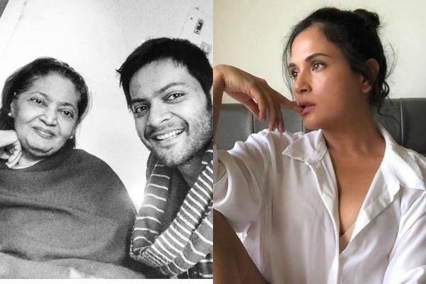 richa chadda shares an emotional post on the death of ali fazal mother