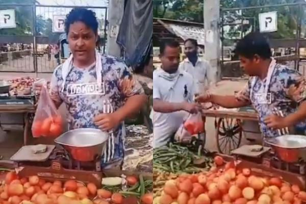 javed haider vegetable selling video viral