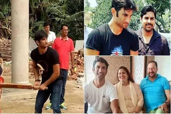 see some unseen pictures of sushant singh rajput