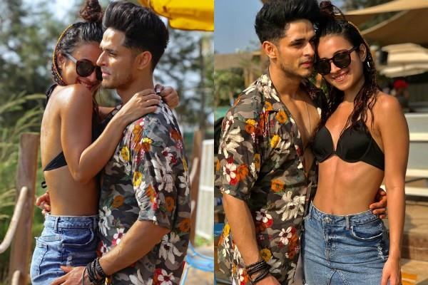 benafsha soonawalla and priyank sharma romantic pics viral