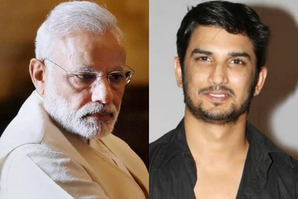 pm narendra modi pays tribute to sushant singh