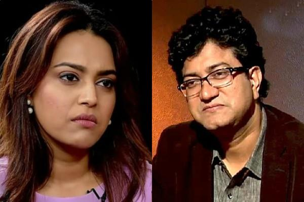 prasoon joshi objected swara web series rasbhari actress answered