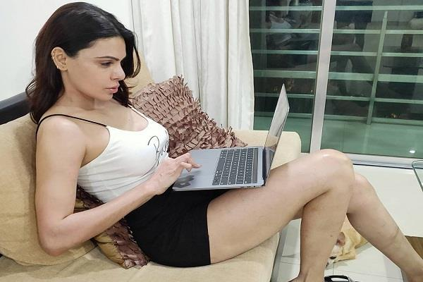 sherlyn chopra working on a digital streaming platform