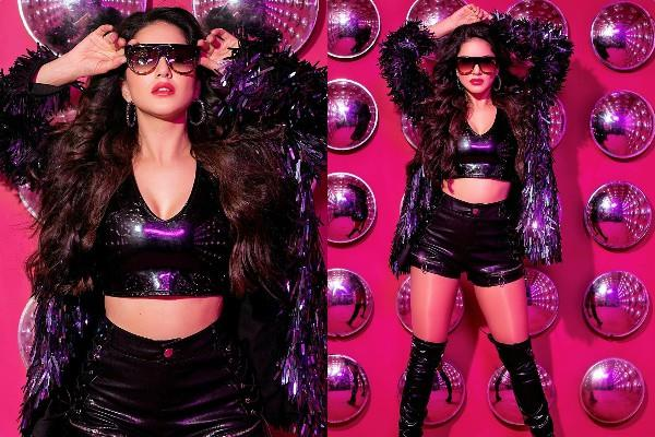 sunny leone shares her latest photos