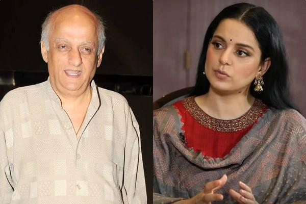 kangana ranaut reprimanded when mukesh bhatt compared sushant to parveen babi