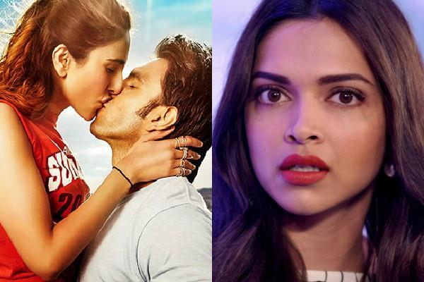 deepika reaction when ranveer singh kisses to vaani kapoor in befikre