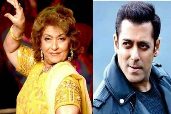 is salman khan and his sister alvira paying for saroj khan treatment
