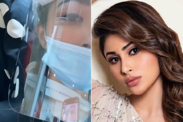 mouni roy returns to india after 4 months from abu dhabi