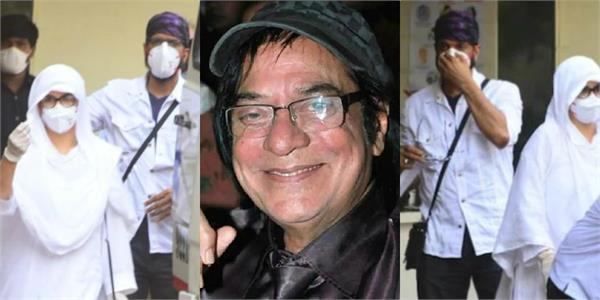 late actor jagdeep funeral held at the south bombay cemetery