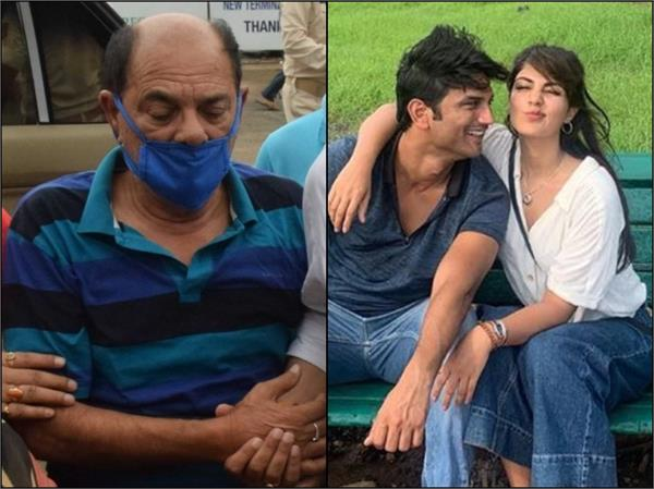 rhea chakraborty allege sushant father kk singh falsely implicating