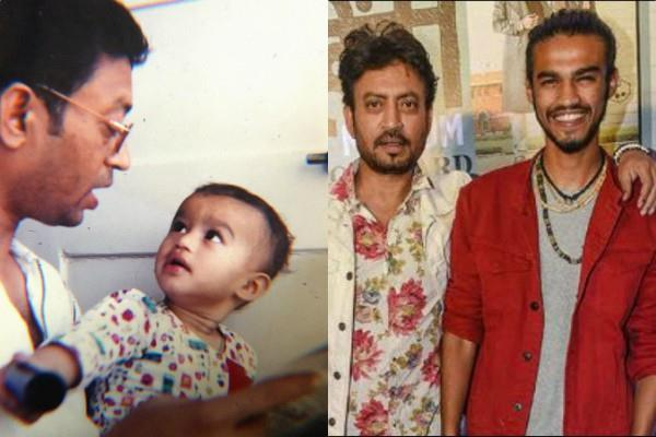 irrfan khan son babil said my father spent his whole life in acting progress