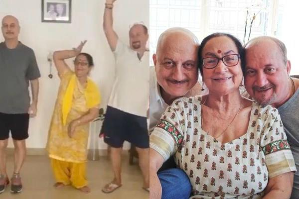 anupam kher family condition improves