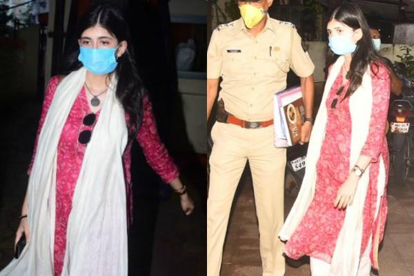 co star sanjana sanghi police questioned 9 hours in sushant singh case