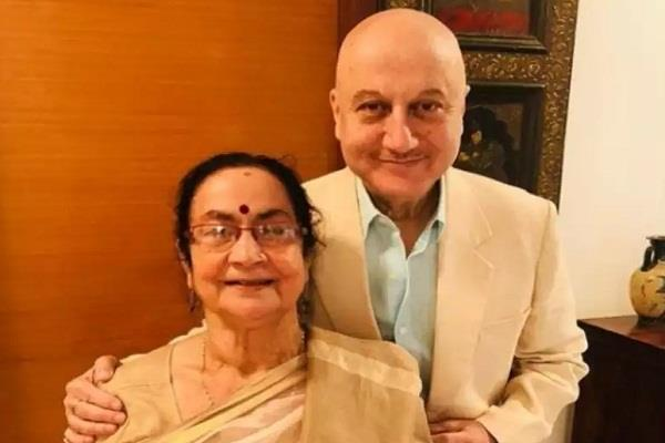 anupam kher mother corona positive