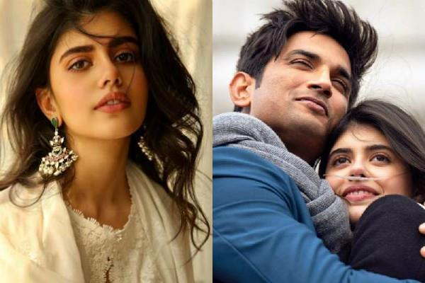 sushant s co star sanjana sanghi break silence on bollywood leaving