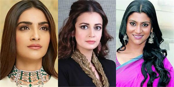 sonam kapoor to dia mirza raised voice against cyberbullying