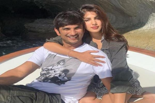is sushant girlfriend rhea chakraborty twitter hacked fans asked