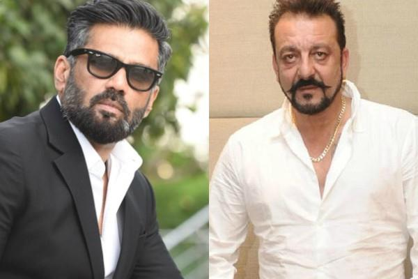 sanjay dutt and suniel shetty provided ration kits to mumbai dabbawalas