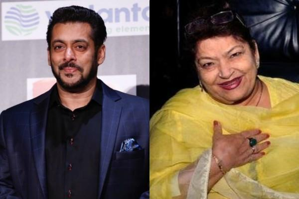 saroj khan felt salman insulted her after that actor promised her to give work
