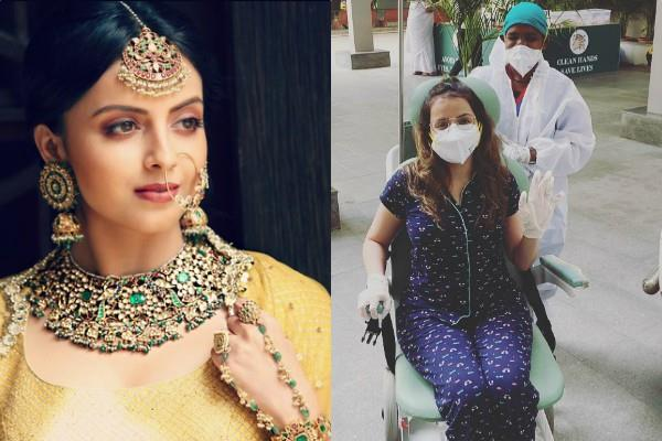 actress shrenu parikh discharged from hospital