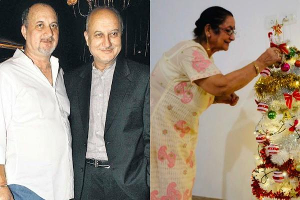 anupam kher gives health of mother and other family member