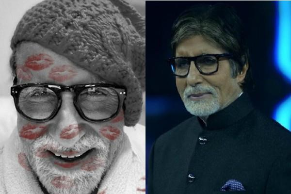 amitabh bachchan share cute picture on instagram