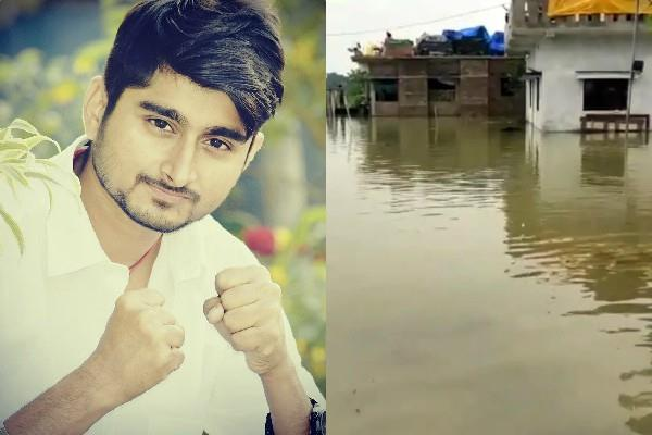 bigg boss fame deepak thakur house submerged in bihar flood
