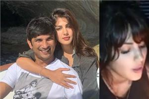 rhea celebrated her last birthday with late actor sushant singh rajput