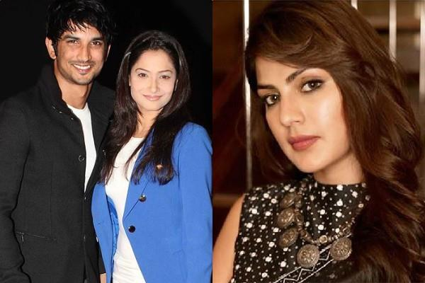 is sushant father lodged a complaint against reha only on ankita request