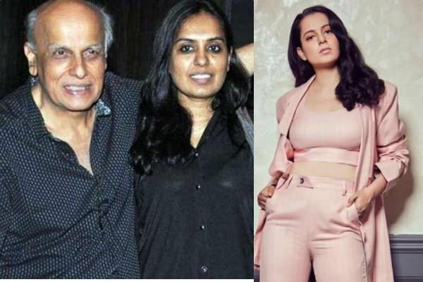 shagufta supports mahesh bhatt said why kangana did another film with him
