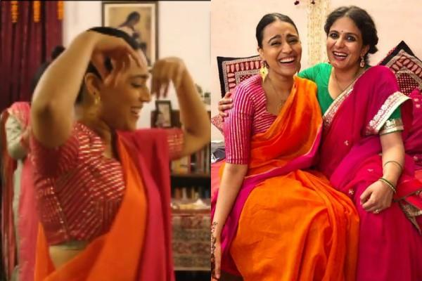 swara bhaskar dances in mama wedding ceremony on sridevi song