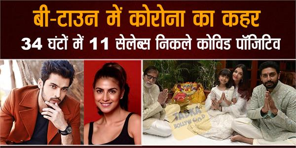 coronavirus attack on bollywood bachchan kher and these stars test postive