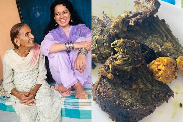 kangana ranaut visited her nani house in sadhot village himachal pradesh