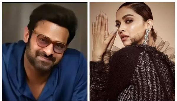 prabhas and deepika will be seen together in the film